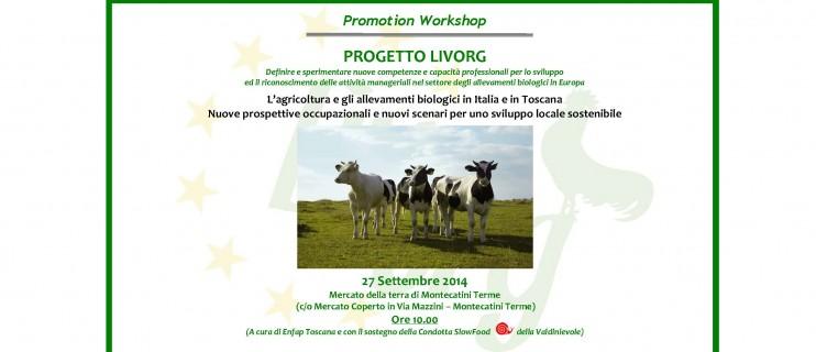1_Progetto LIVORG_Locandina Workshop Montecatini_27 Settembre 2014